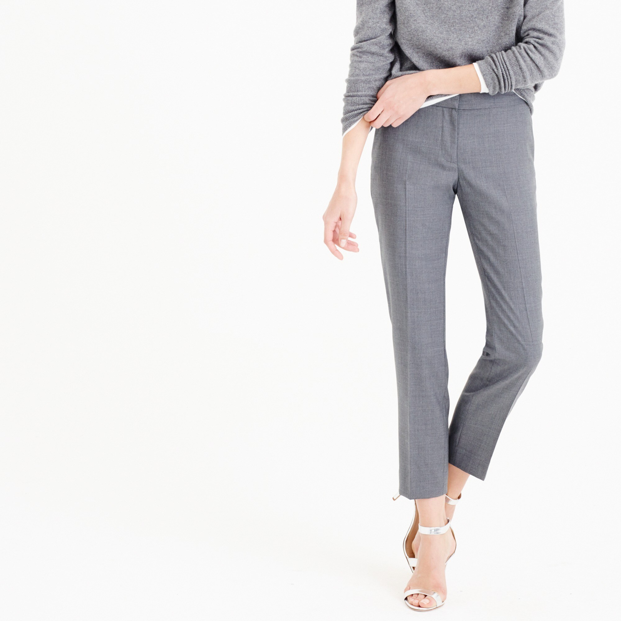 tall paley pant in super 120s wool : women's suit pants