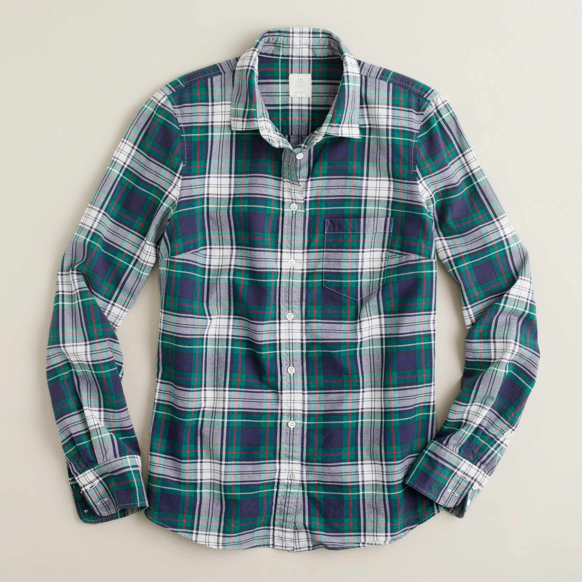 Boy shirt in Carrick tartan