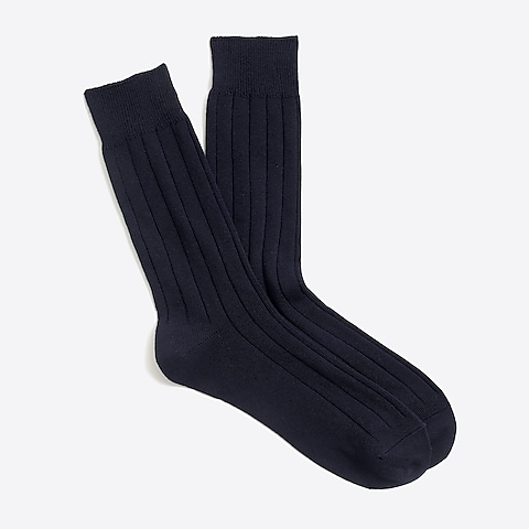 factory mens Basic crew socks