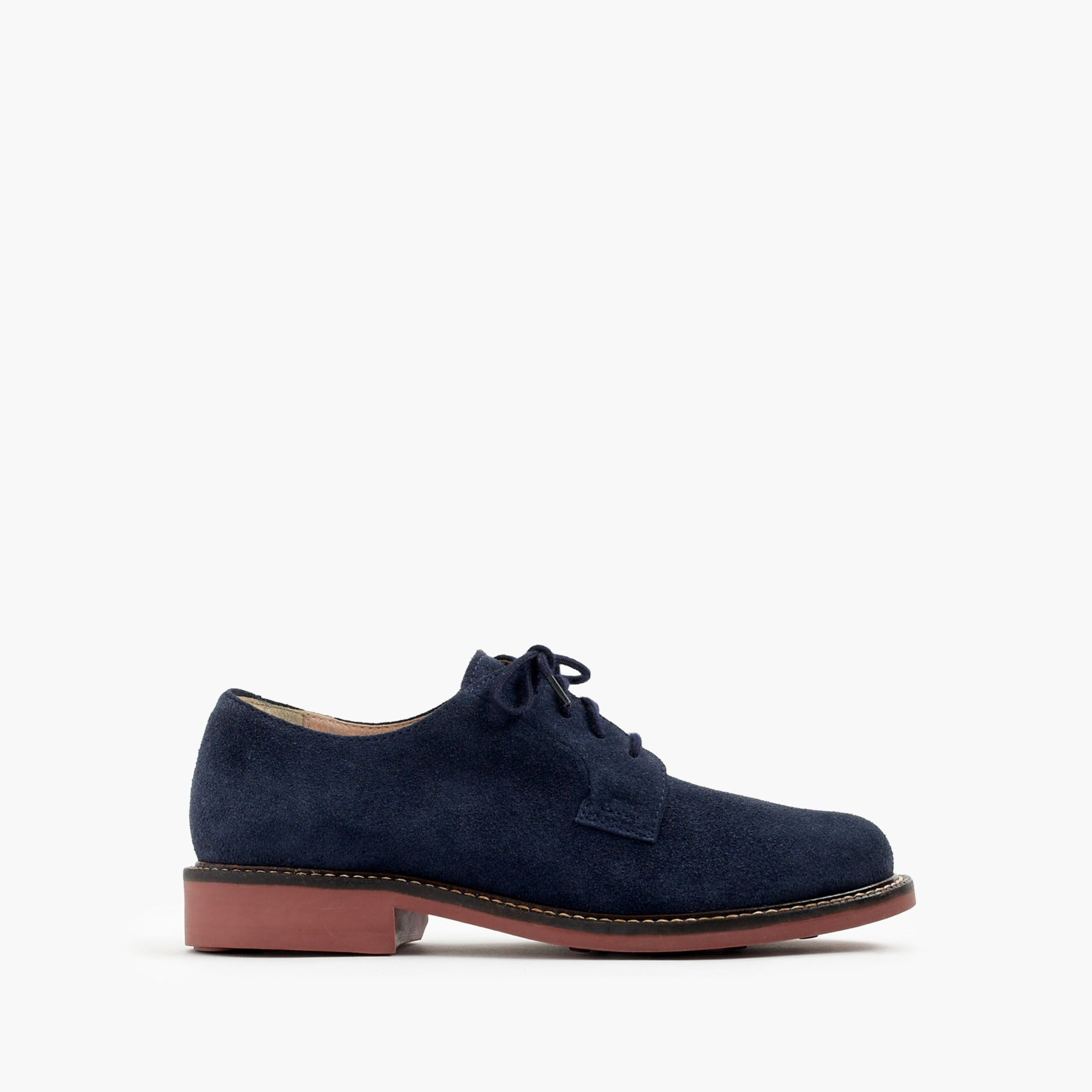 Image 1 for Kids' suede buck with contrast sole