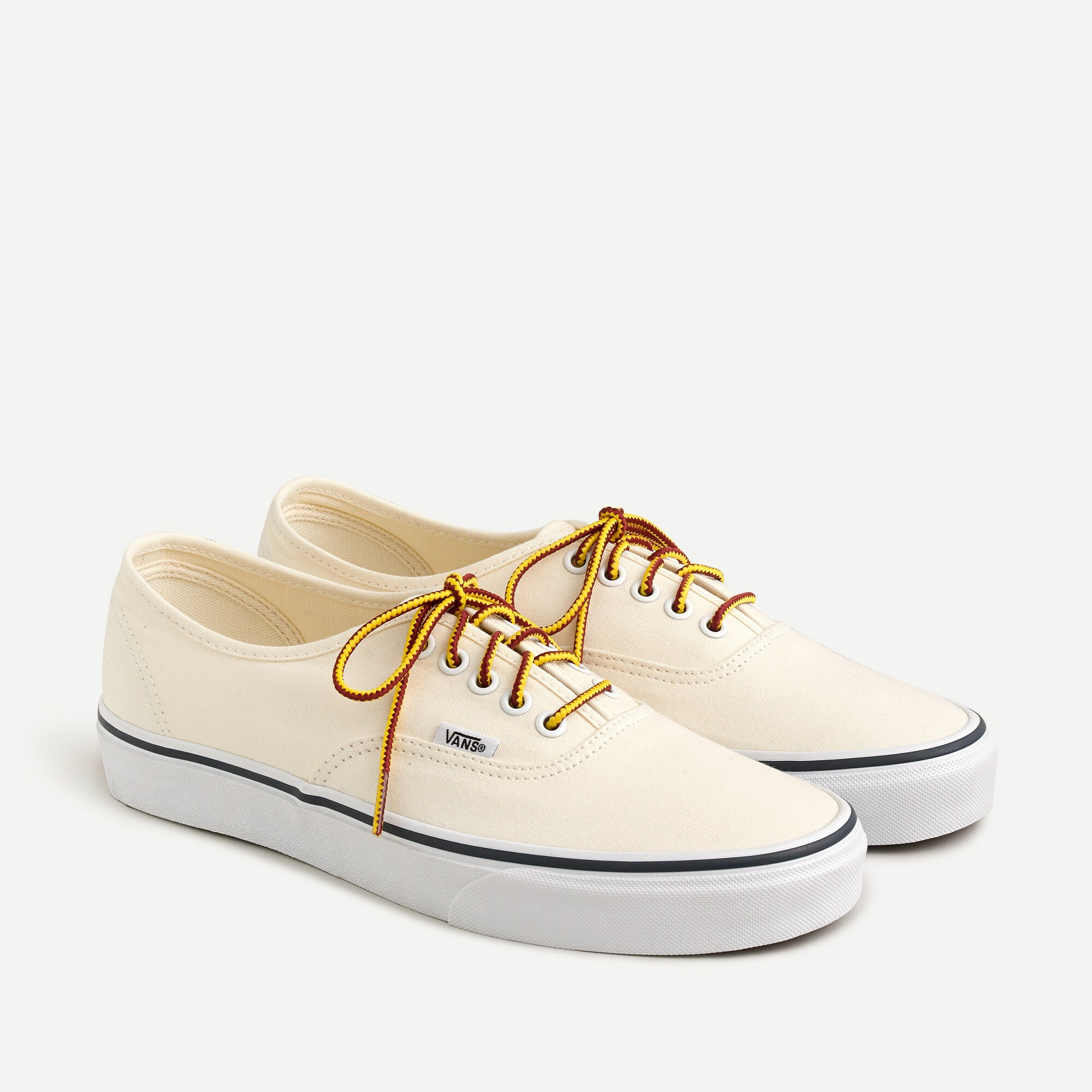 mens Vans® for J.Crew canvas authentic sneakers