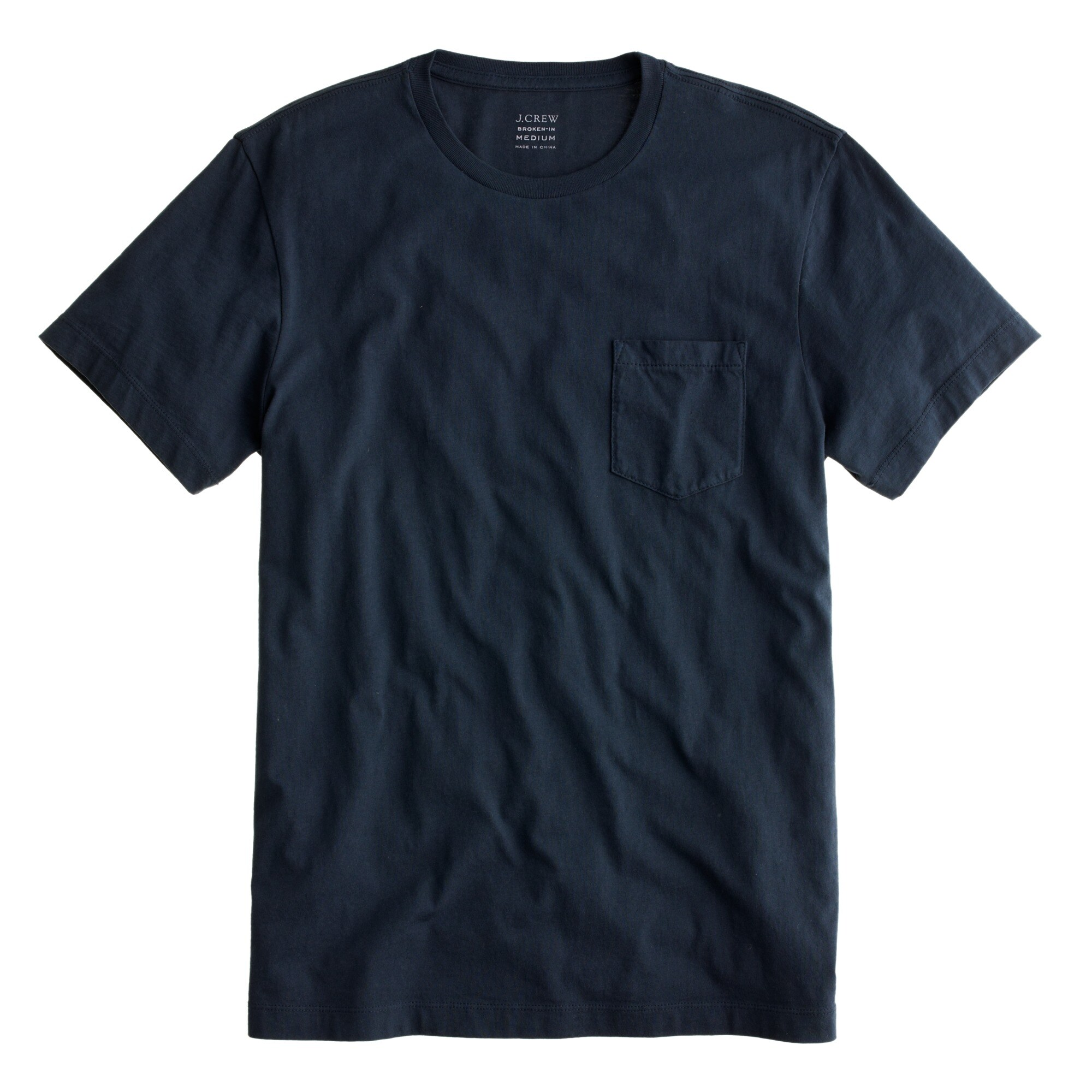 Image 2 for Tall broken-in pocket T-shirt