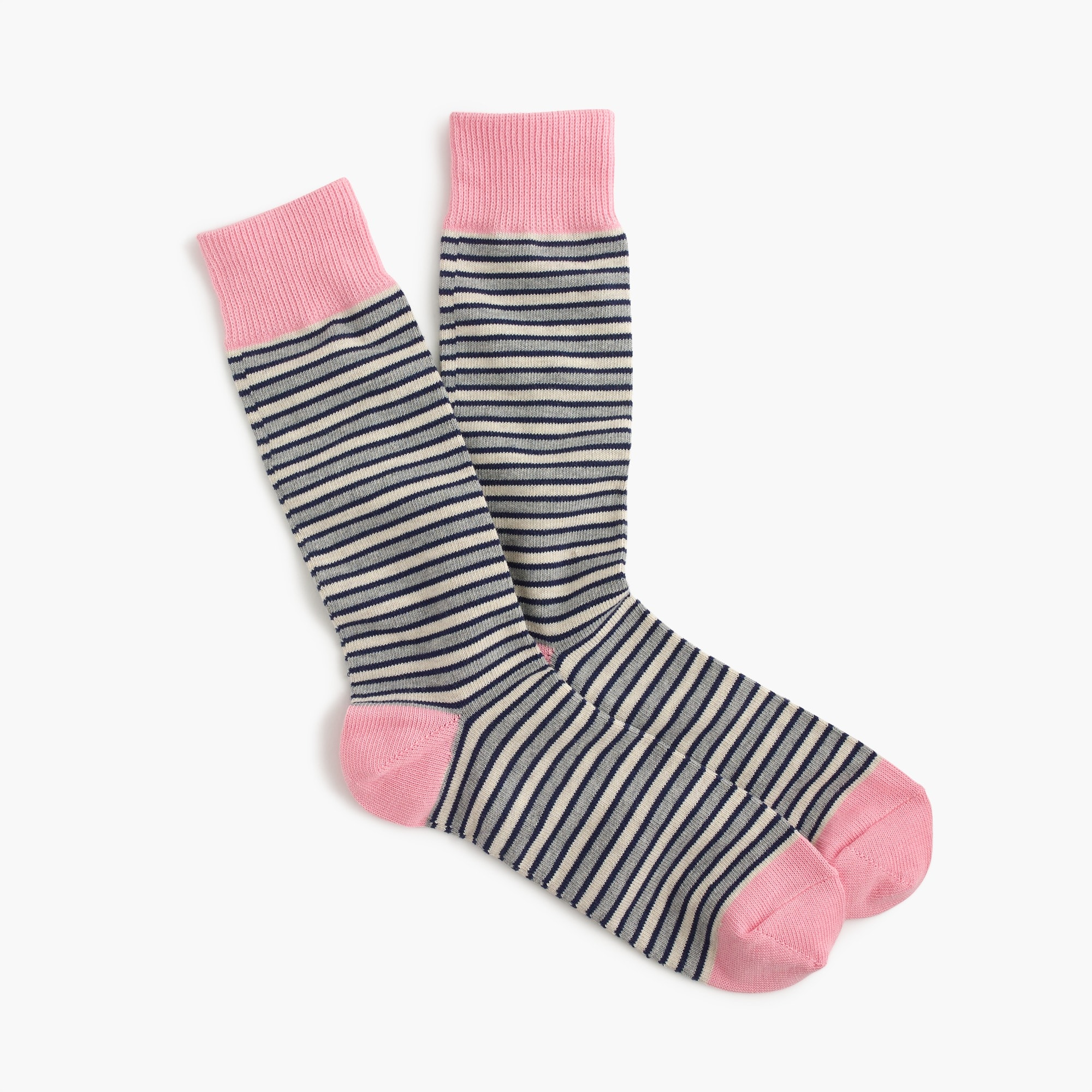 men's triple-stripe socks - men's accessories
