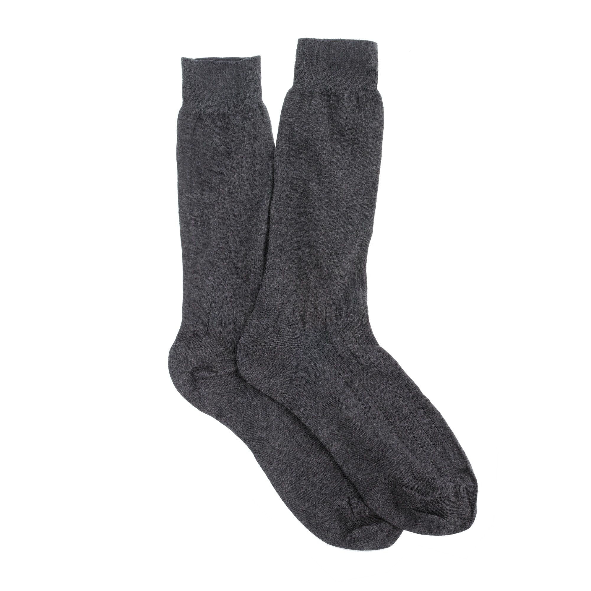 Ribbed cotton dress socks men socks c