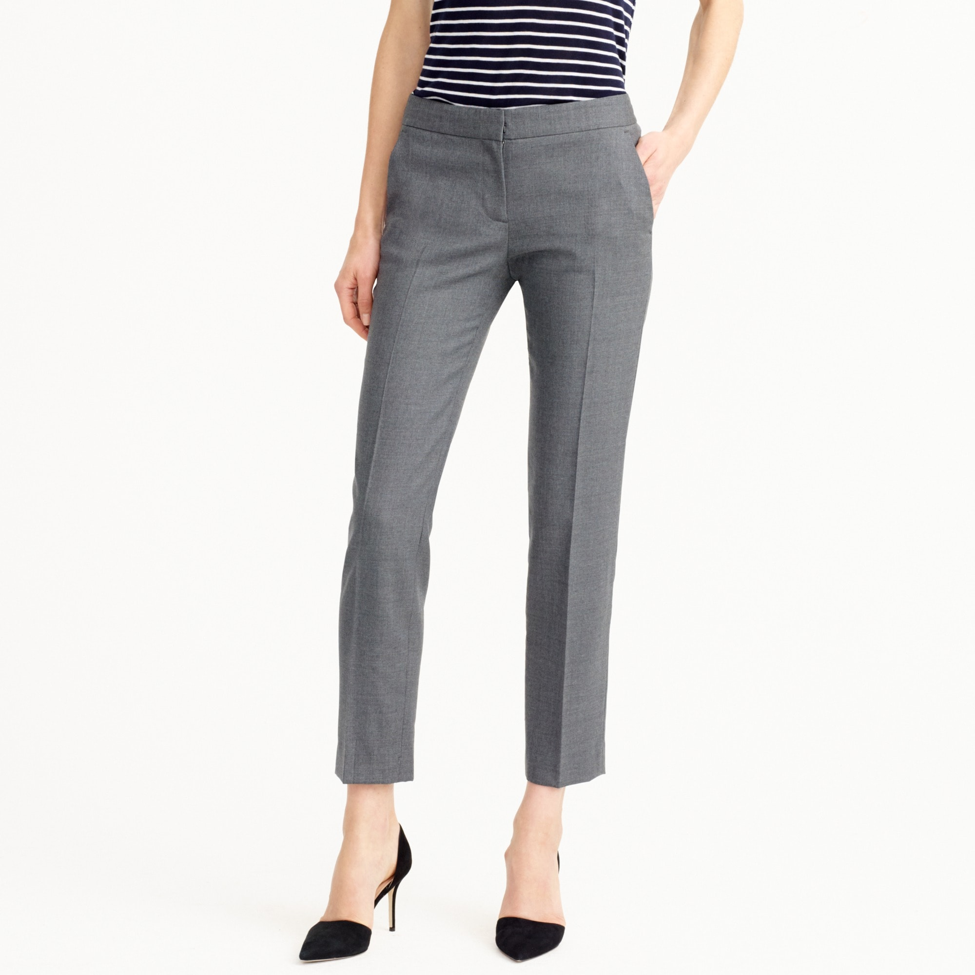 Tall Paley pant in Italian stretch wool women suiting c