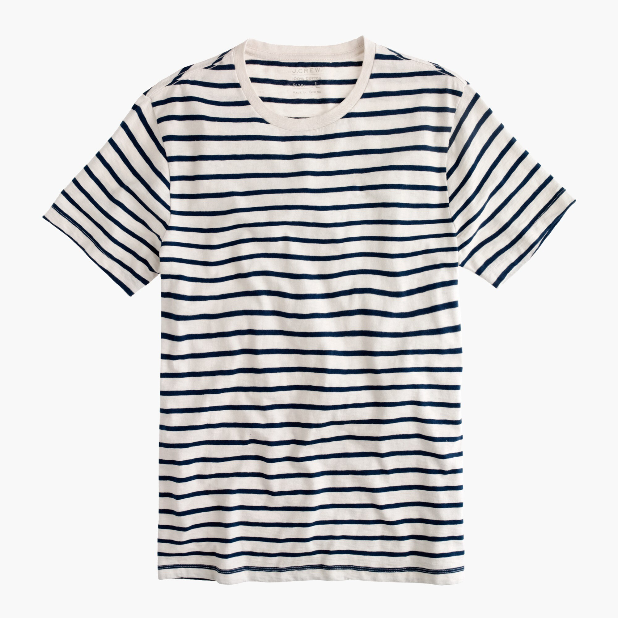 Image 2 for Tall deck-stripe T-shirt