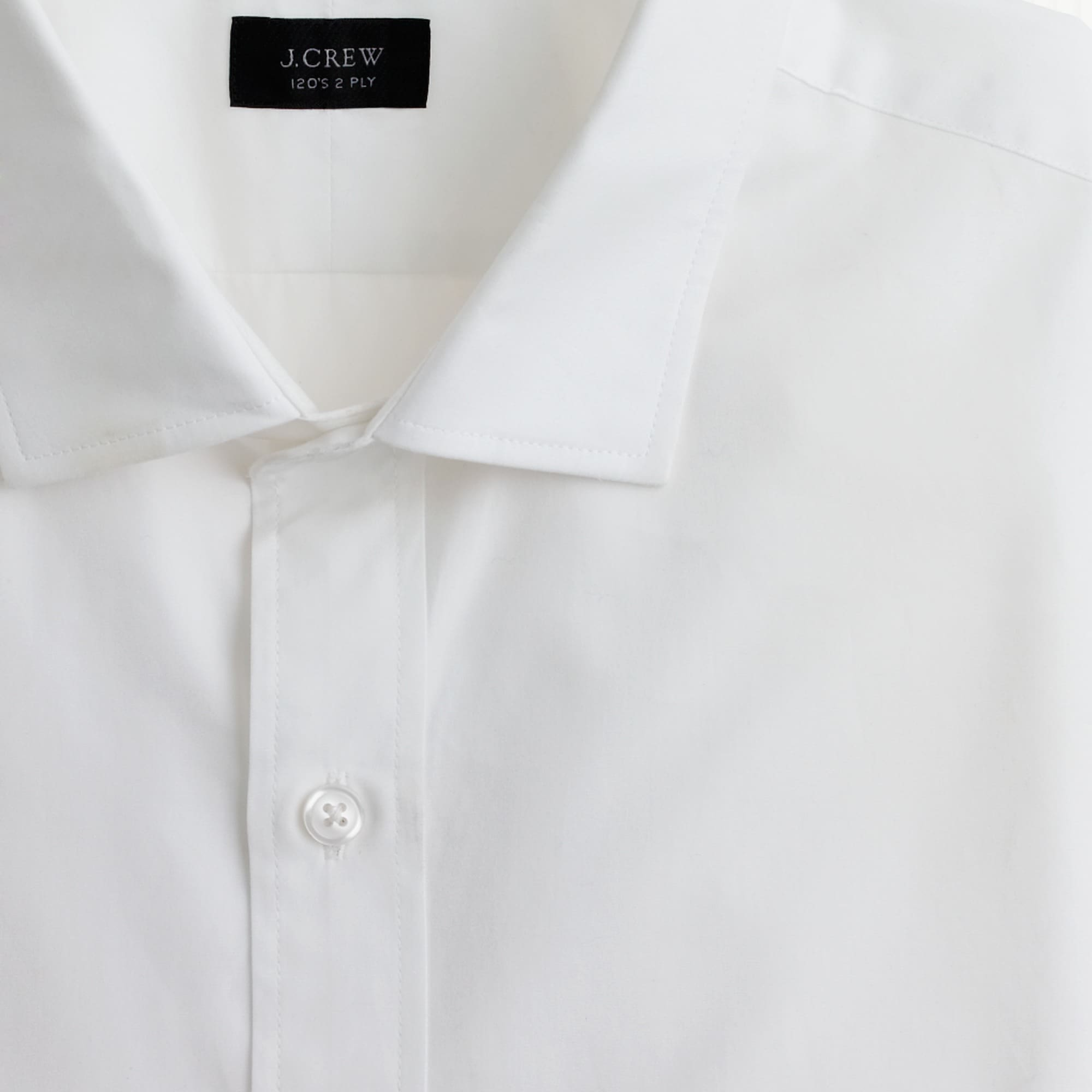Ludlow Slim-fit spread-collar shirt