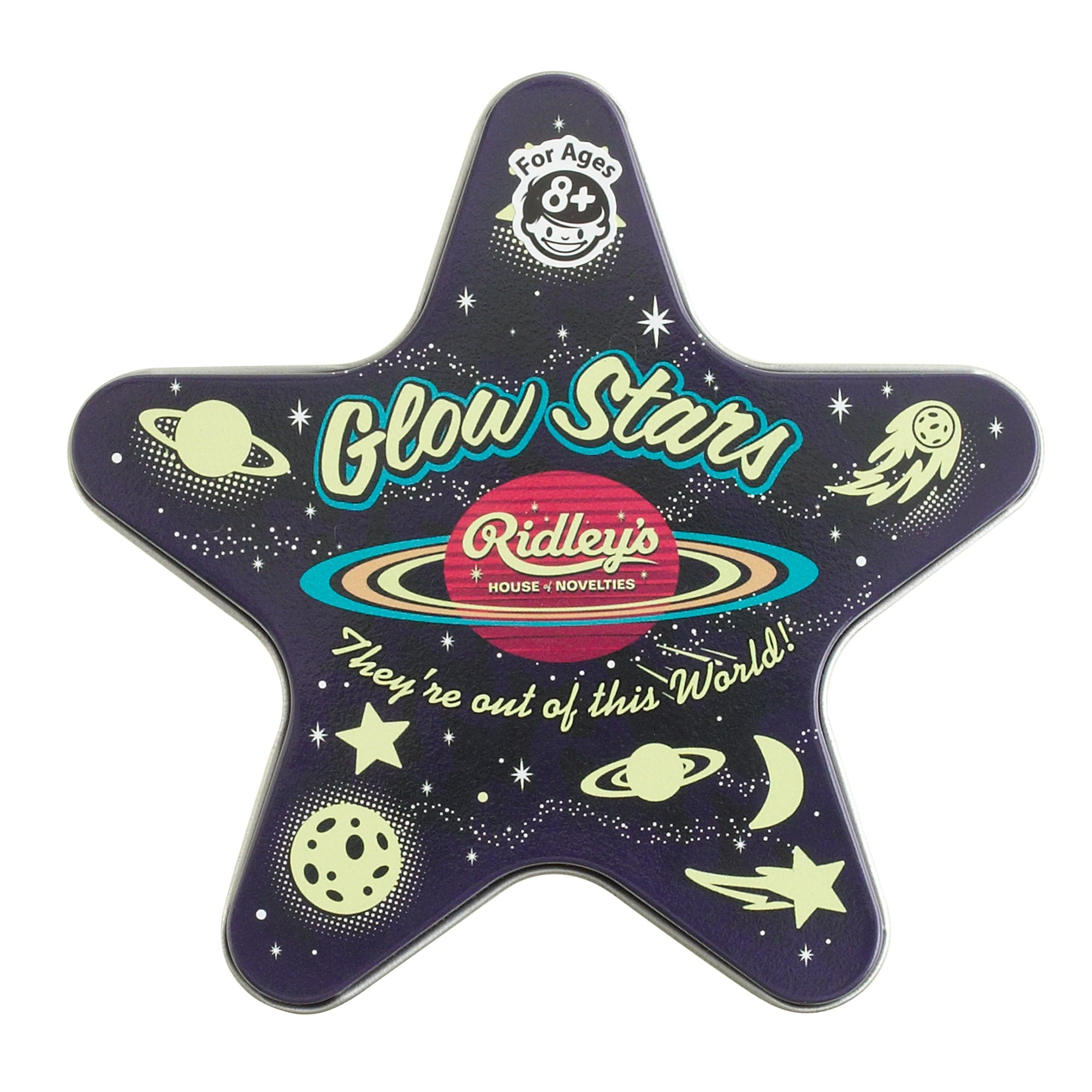 Kids' Ridley's® glow-in-the-dark ceiling stars