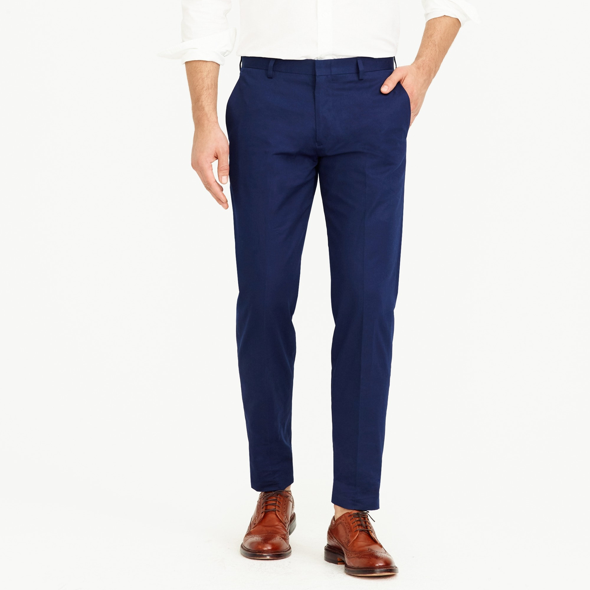 Ludlow suit pant in Italian chino men pants c