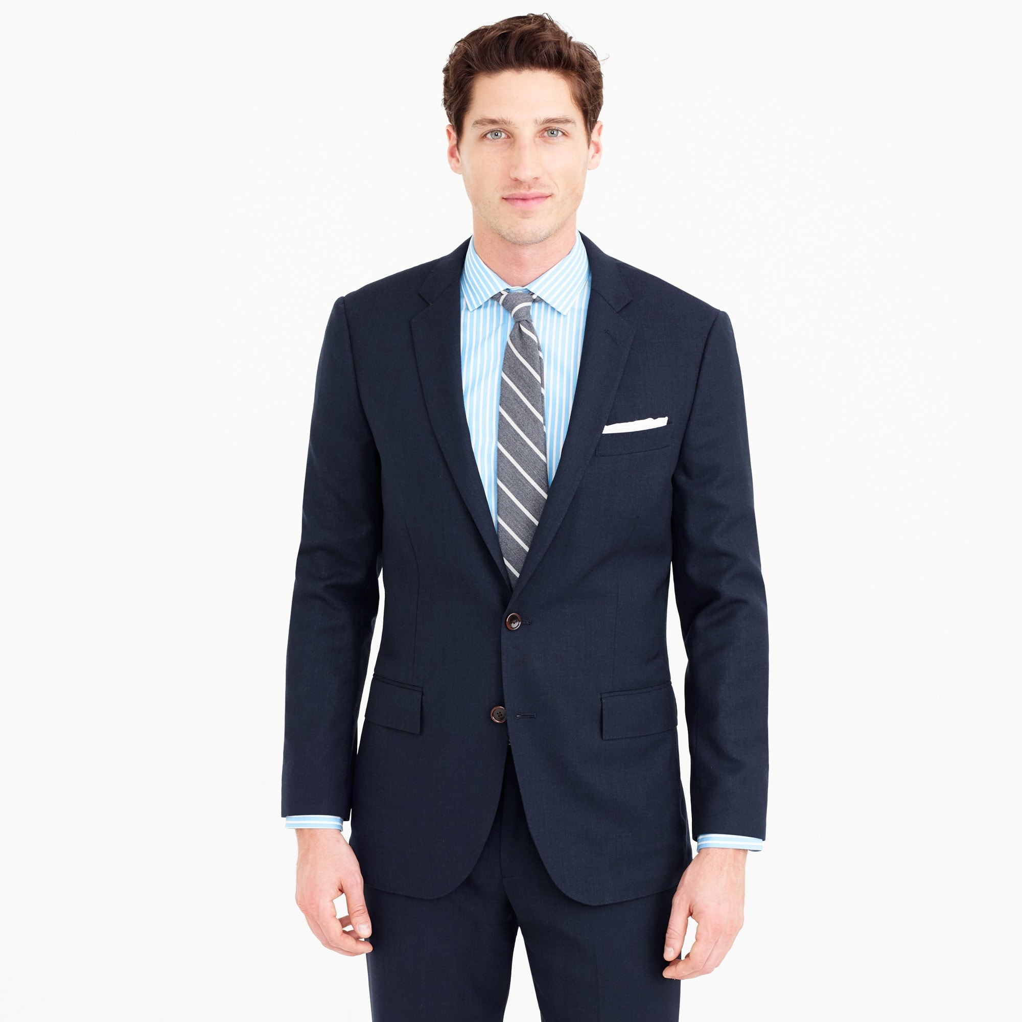 mens Ludlow Traveler suit jacket in Italian wool
