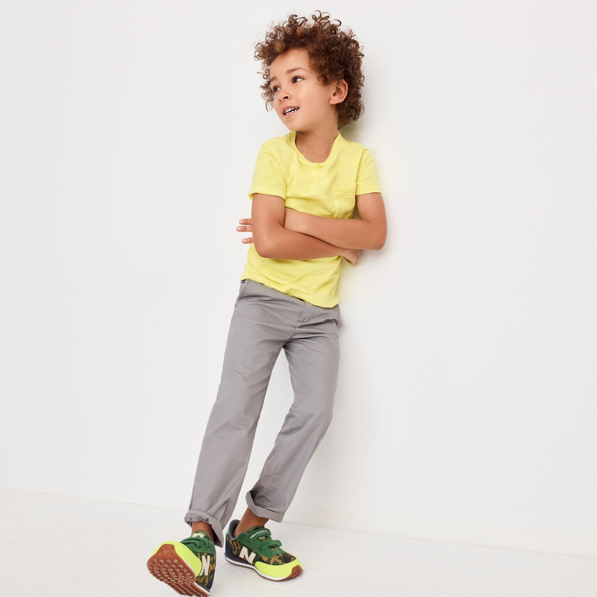 boys' lightweight chino pant in slim fit - boys' pants