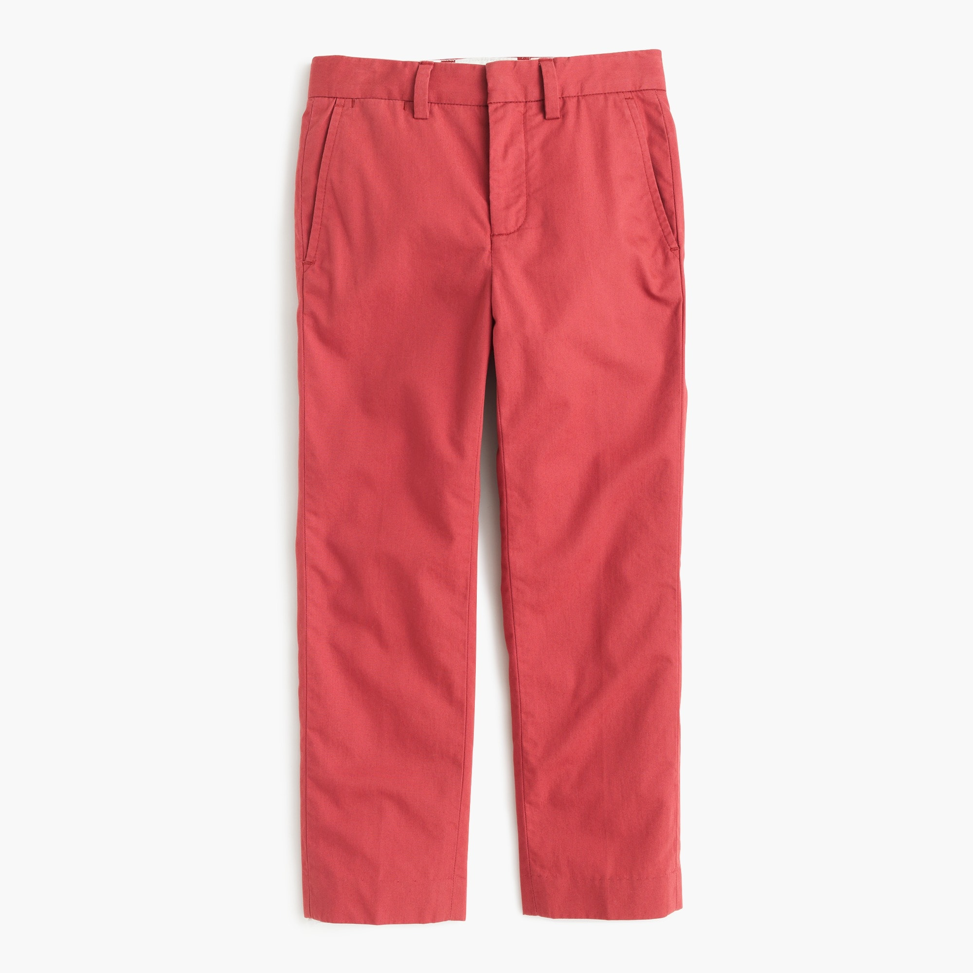 Boys' lightweight chino pant in slim fit boy pants c