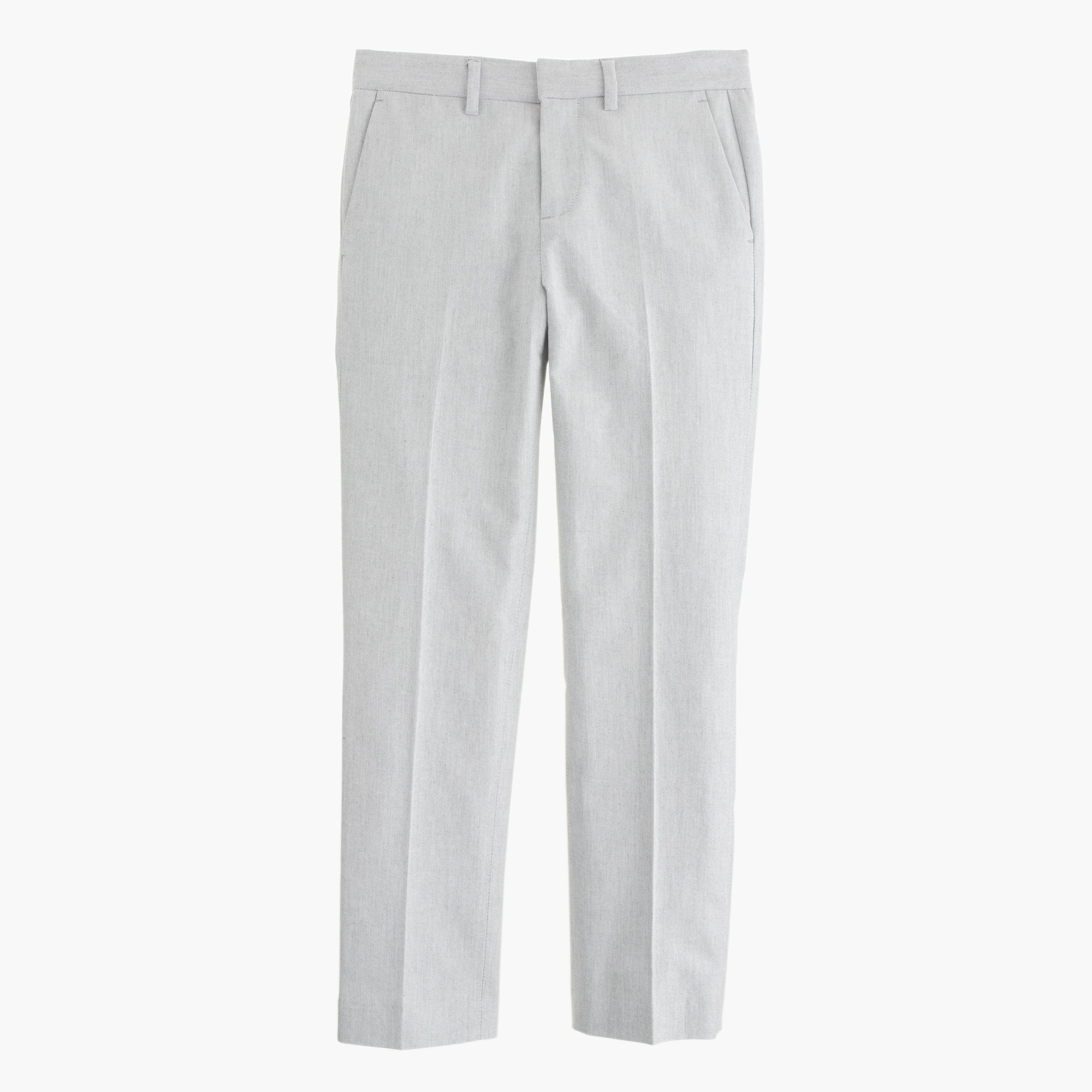 Boys' slim Ludlow suit pant in oxford cloth