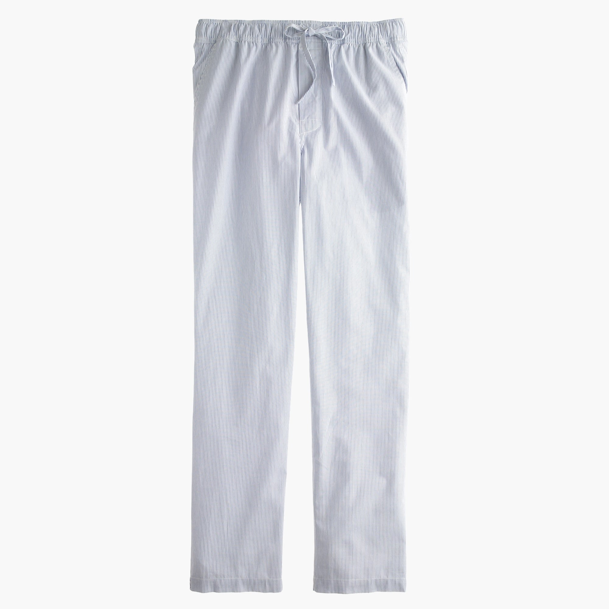 men's cotton pajama pant in stripe - men's lounge