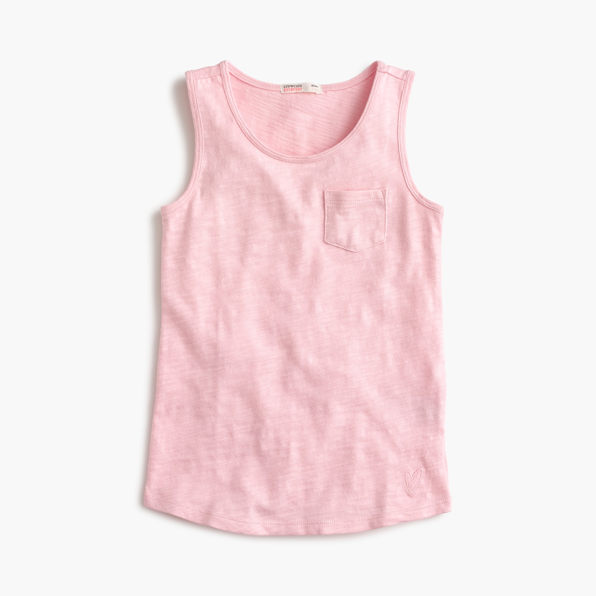 Image 1 for Girls' pocket tank top