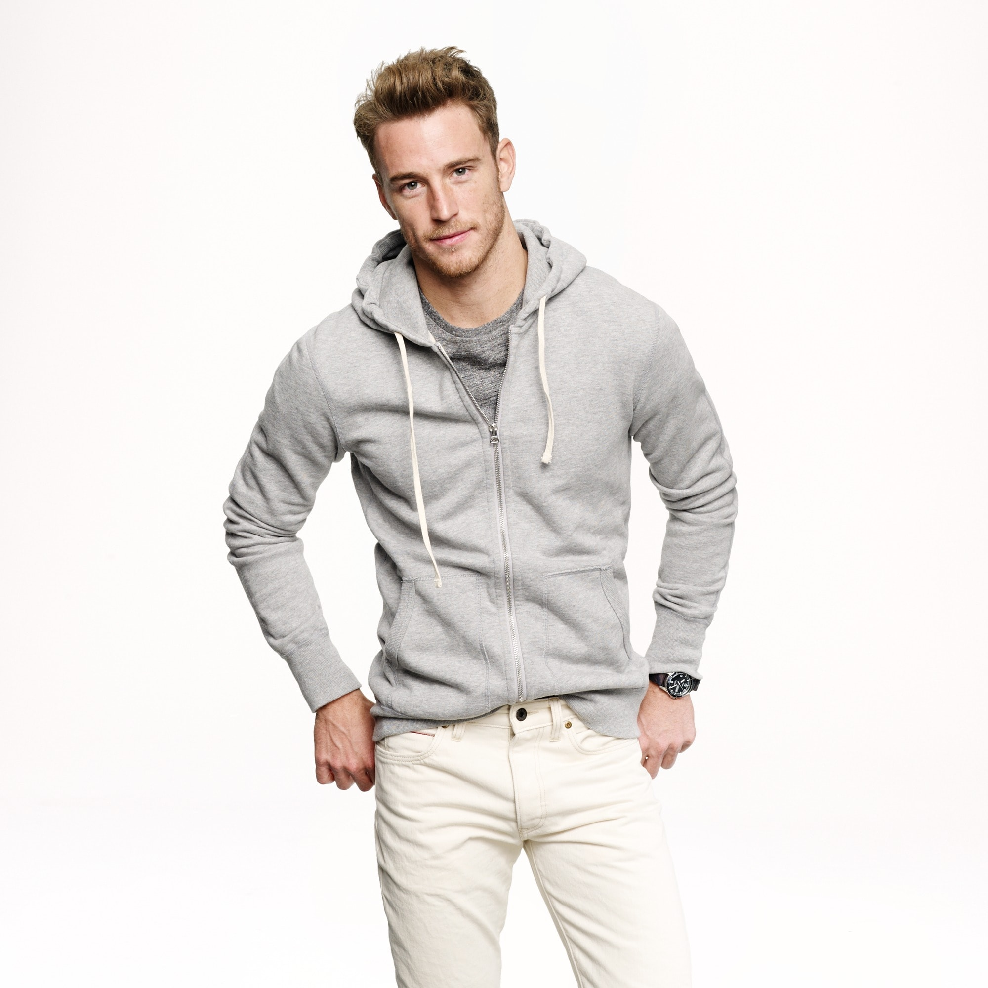 Reigning Champ® full-zip hoodie men j.crew in good company c
