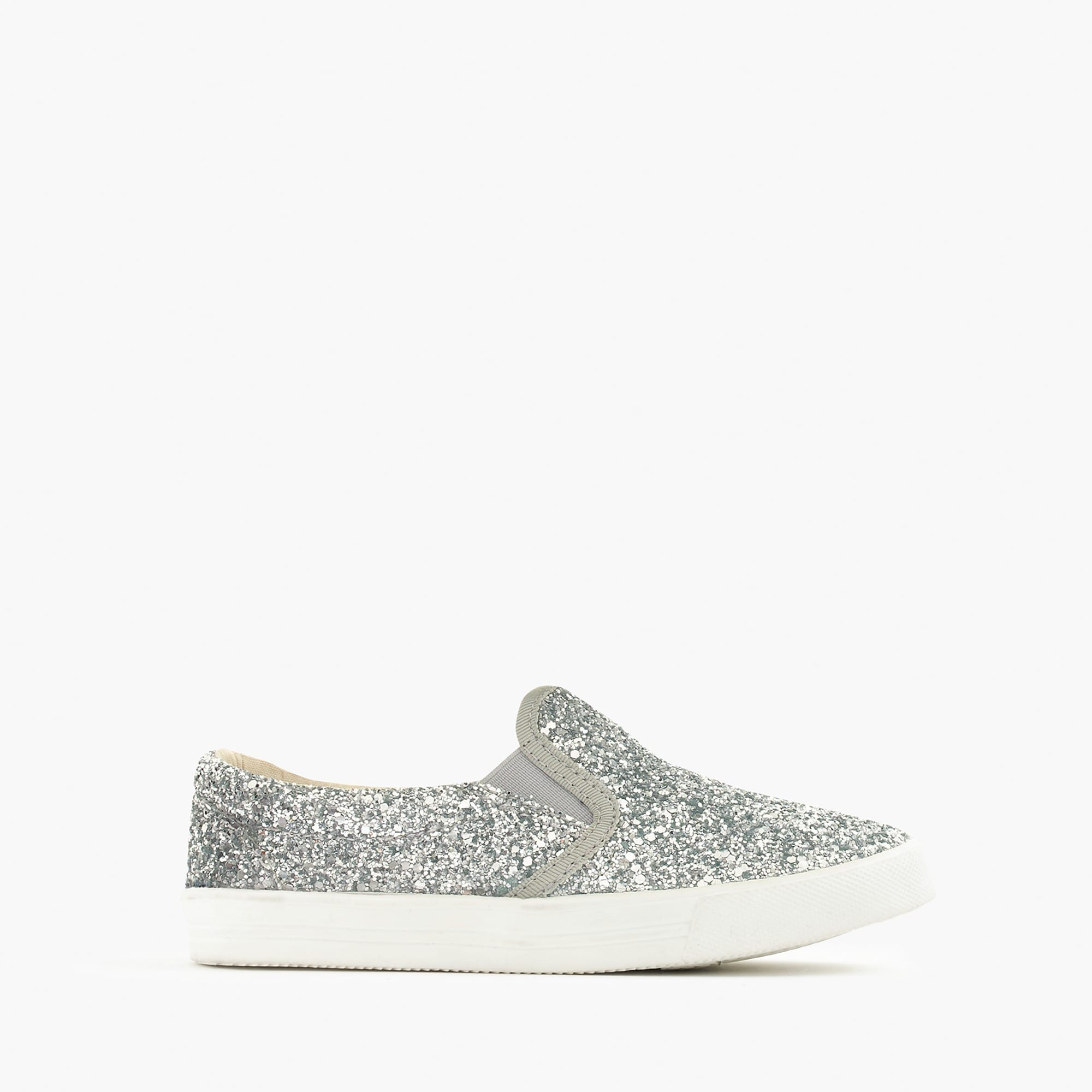 Girls' slide sneakers in glitter girl shoes & sneakers c
