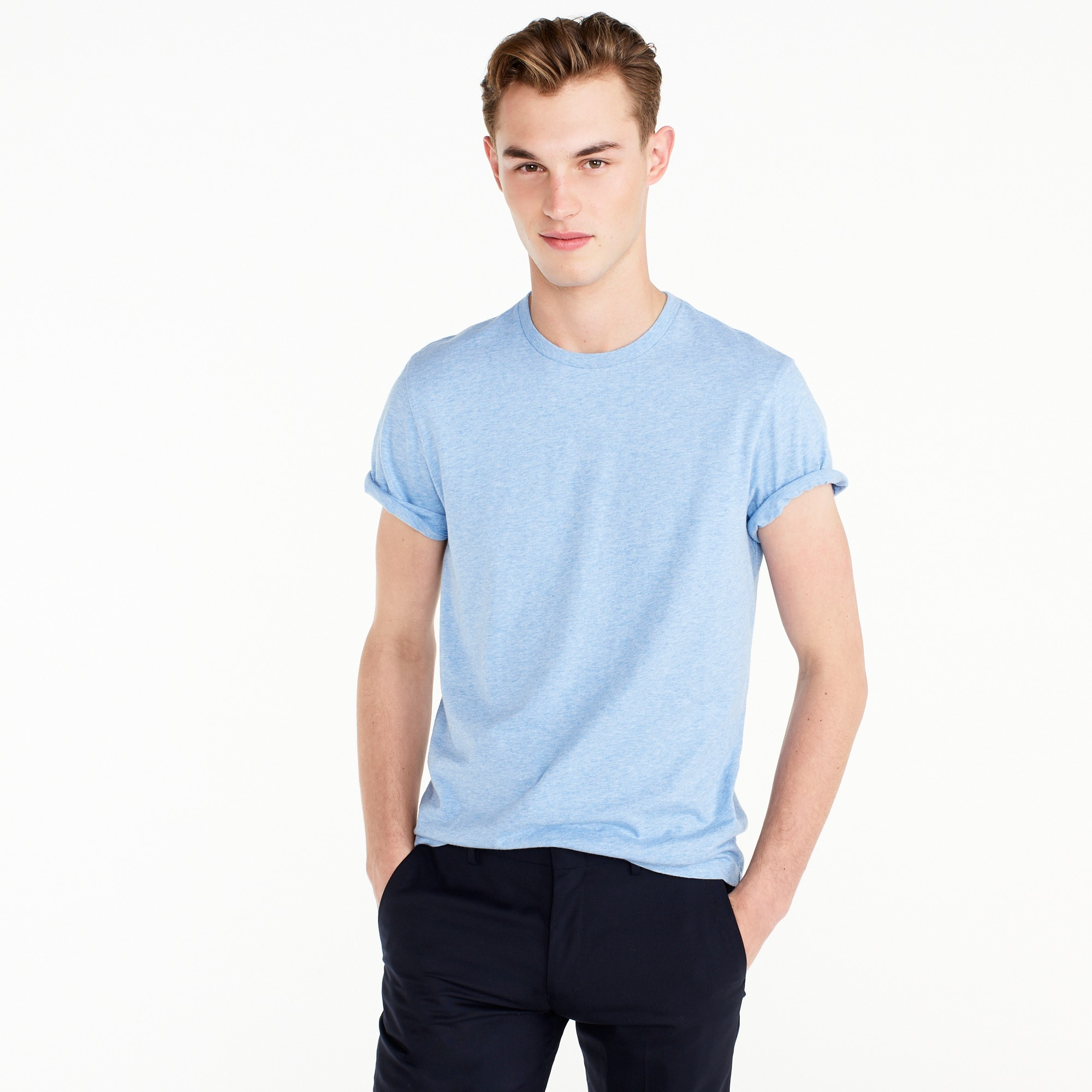 Tall broken-in T-shirt men j.crew in good company c