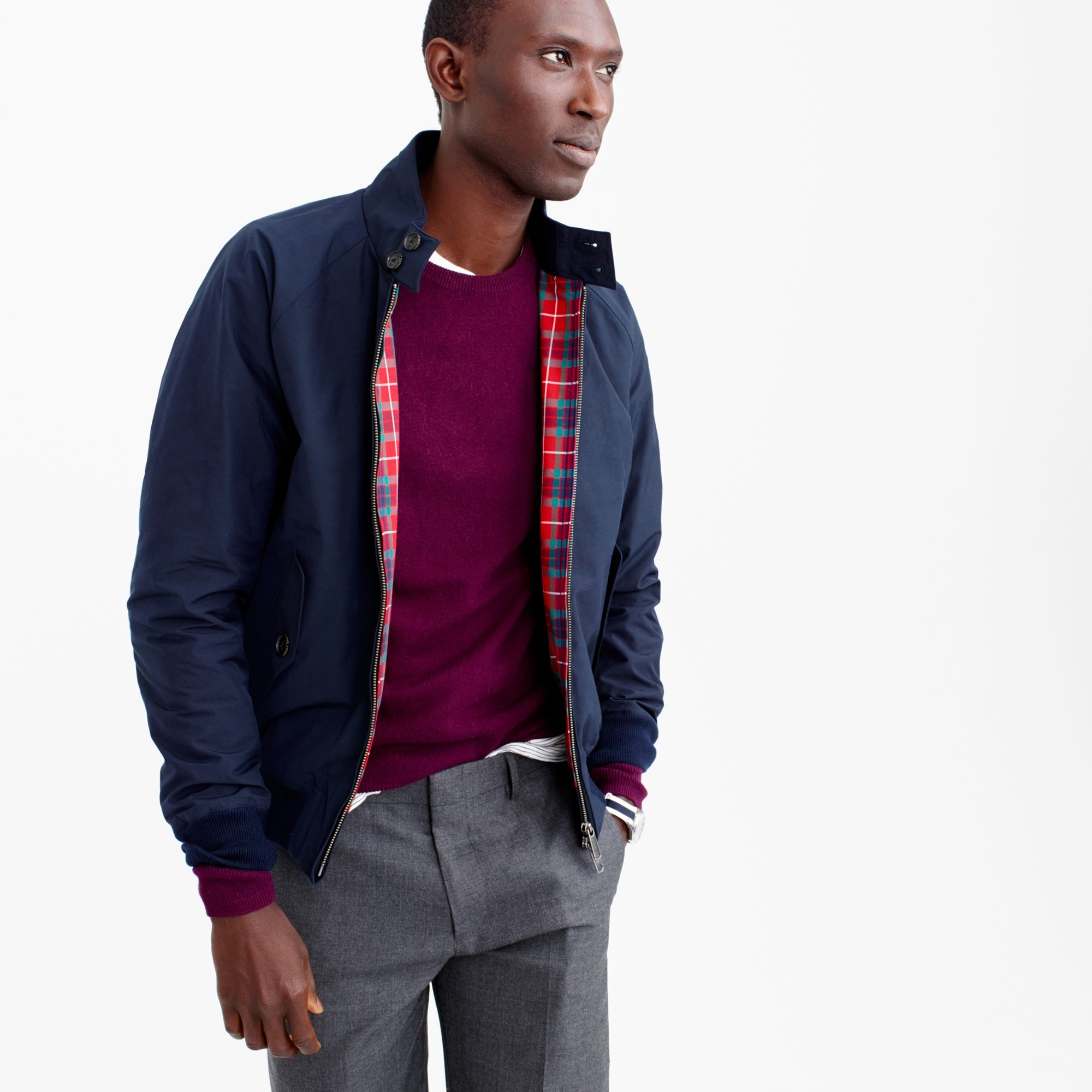 Baracuta® G9 Harrington jacket men j.crew in good company c