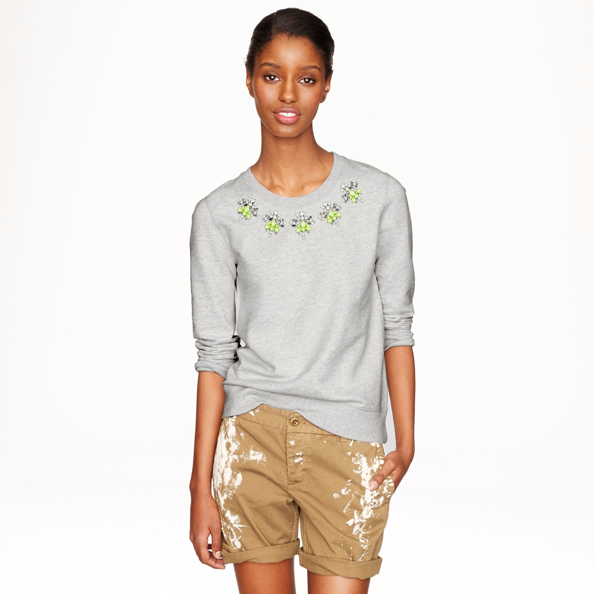 jeweled sweatshirt :