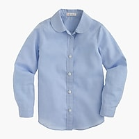 Girls' Wendy shirt in tissue oxford cloth