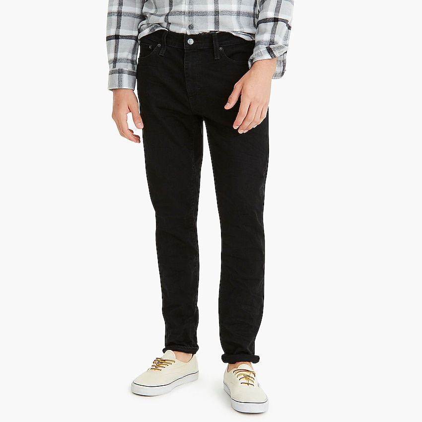 j.crew factory: slim-fit flex jean in shadow wash for men, right side, view zoomed