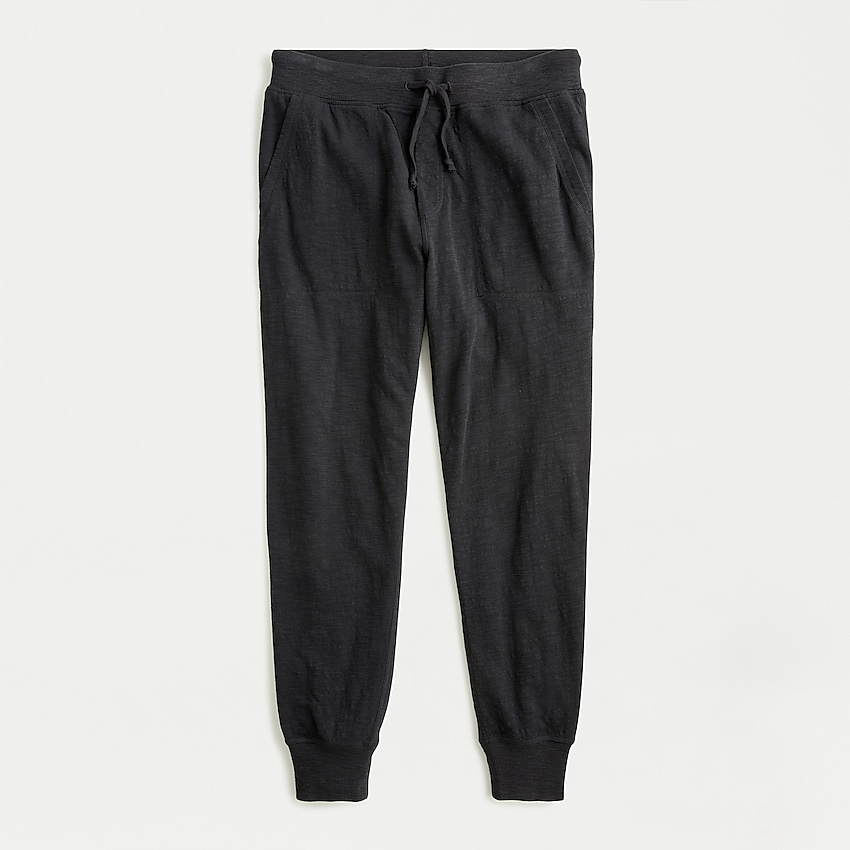 j.crew: duo knit lounge pant for men, right side, view zoomed