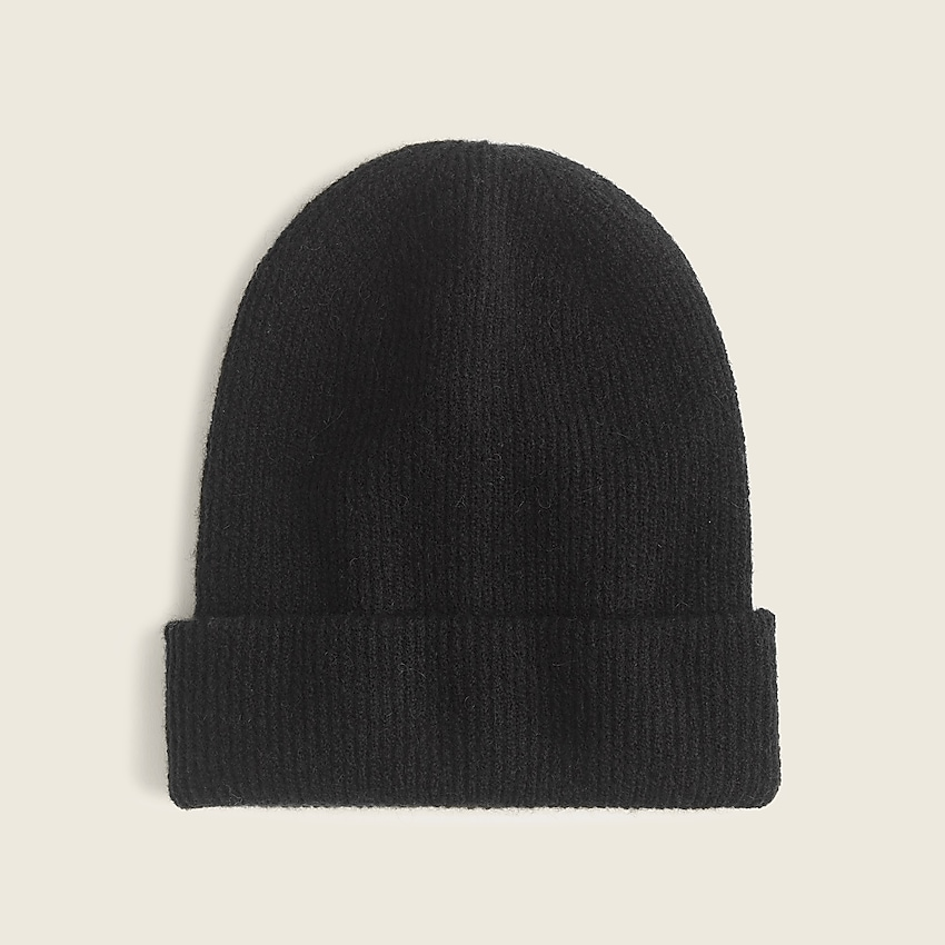 Ribbed beanie in supersoft yarn | J.Crew US