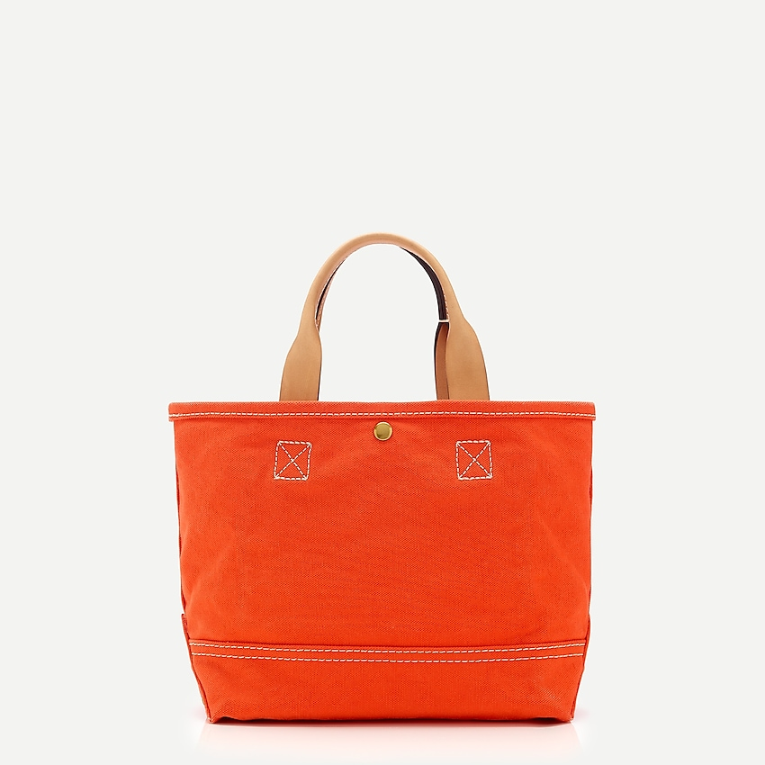 j.crew: montauk tote in small for women, right side, view zoomed