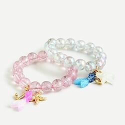 Girls' mermaid bracelet two-pack