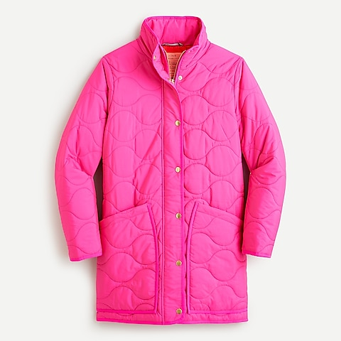 Jcrew Quilted cocoon puffer with PrimaLoft