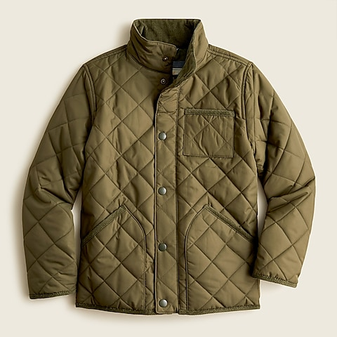 boys Boys' quilted field jacket