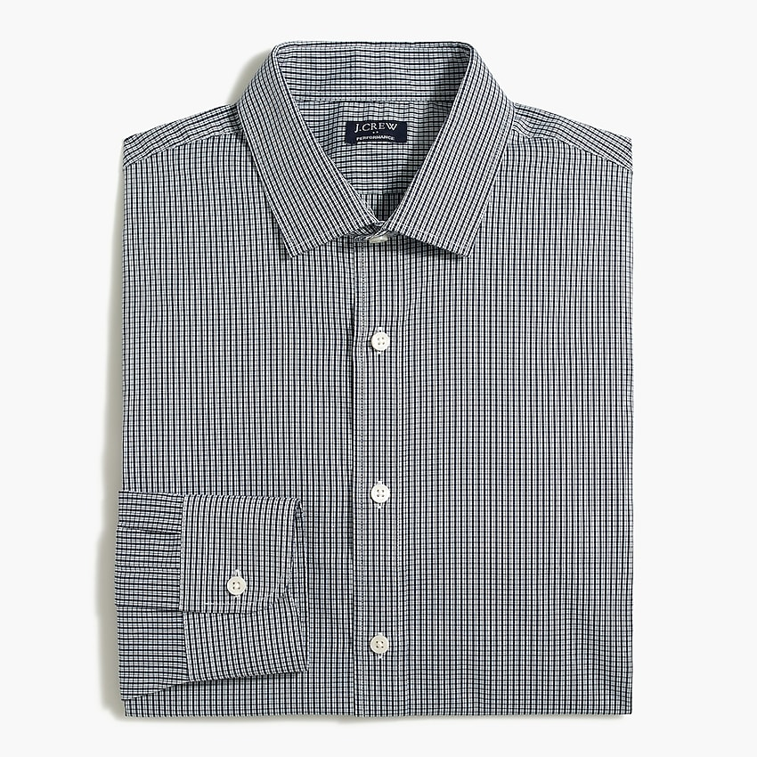 j.crew factory: slim performance shirt for men, right side, view zoomed