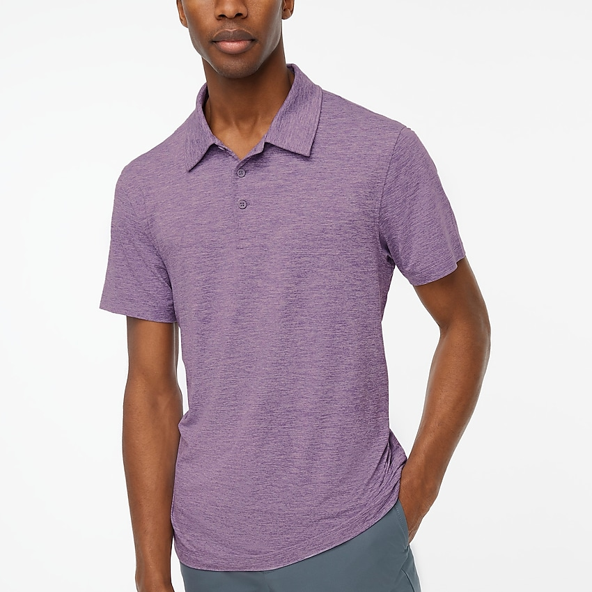 factory: performance polo shirt for men, right side, view zoomed
