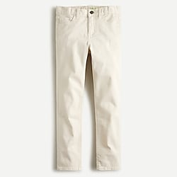 Boys' garment-dyed five-pocket chino pant