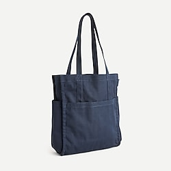 Gusseted tote bag