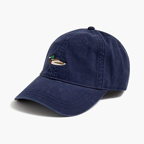 womens Washed critter baseball cap