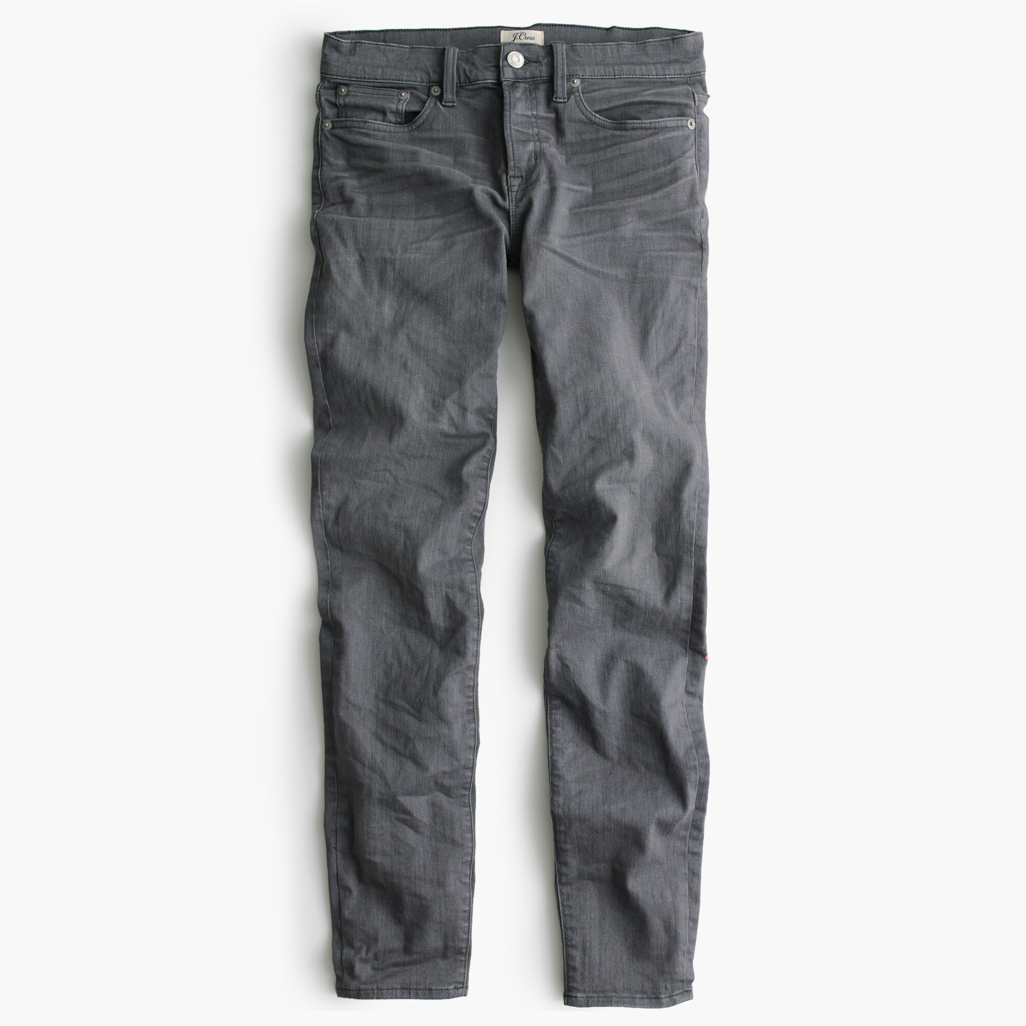 "Image 1 for Petite 8"" toothpick jean in grey"