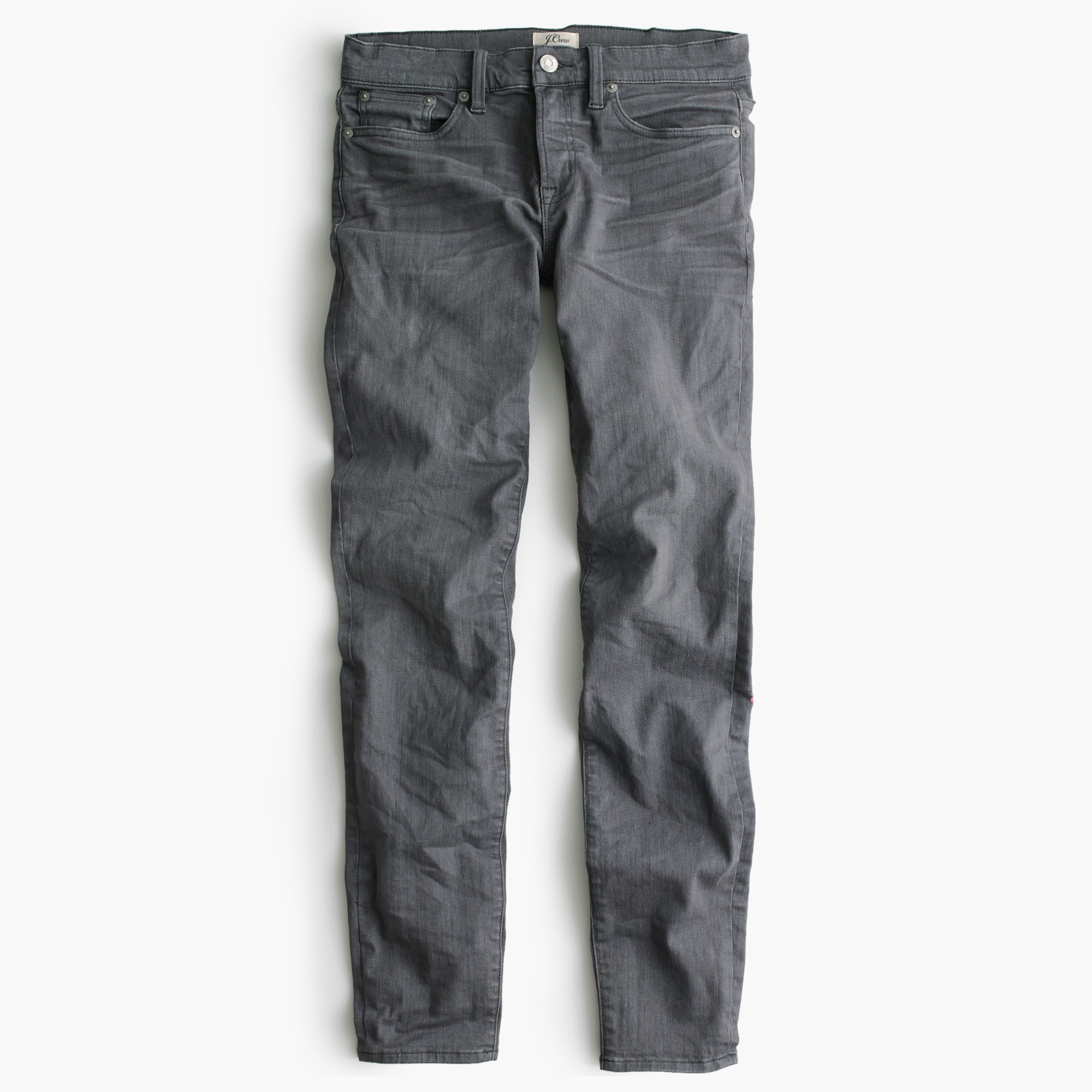 "Tall 8"" toothpick jean in grey"