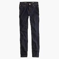 "Tall 9"" high-rise toothpick jean in Resin wash"