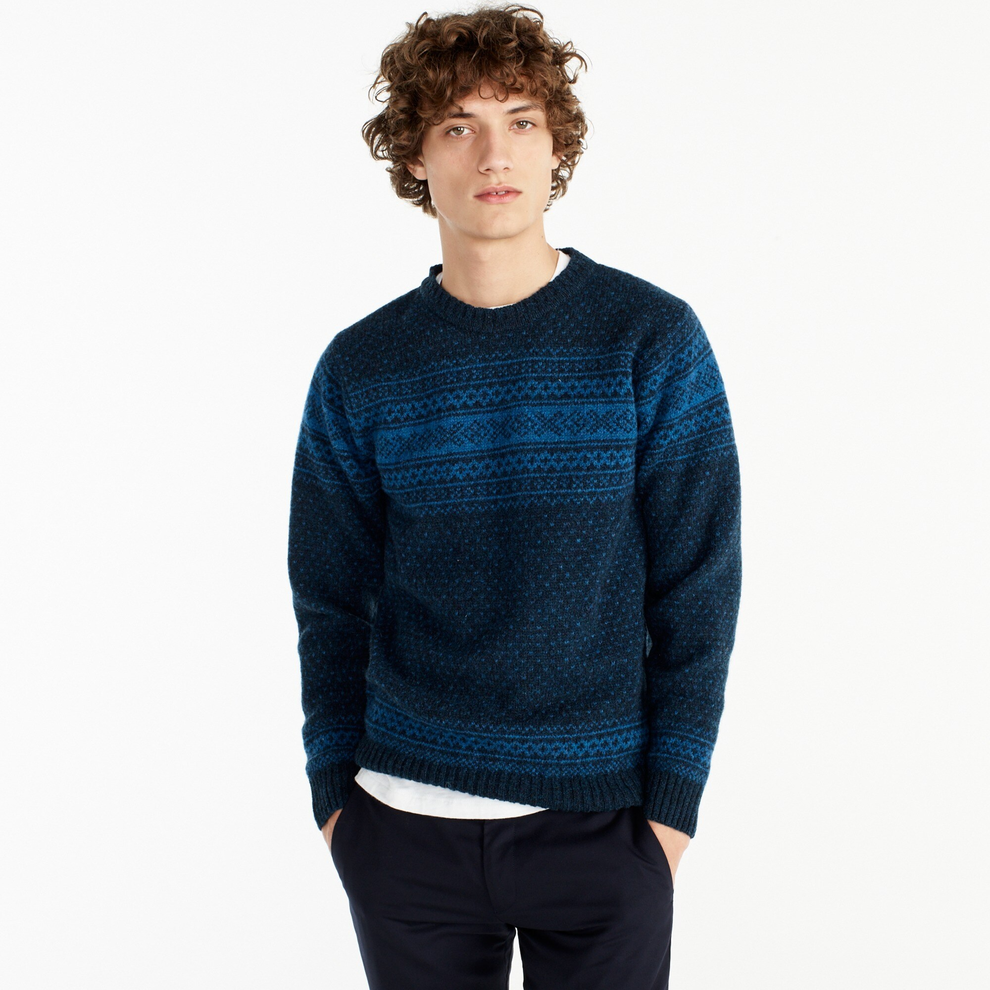 Harley of Scotland™ Nor'easterly sweater men j.crew in good company c