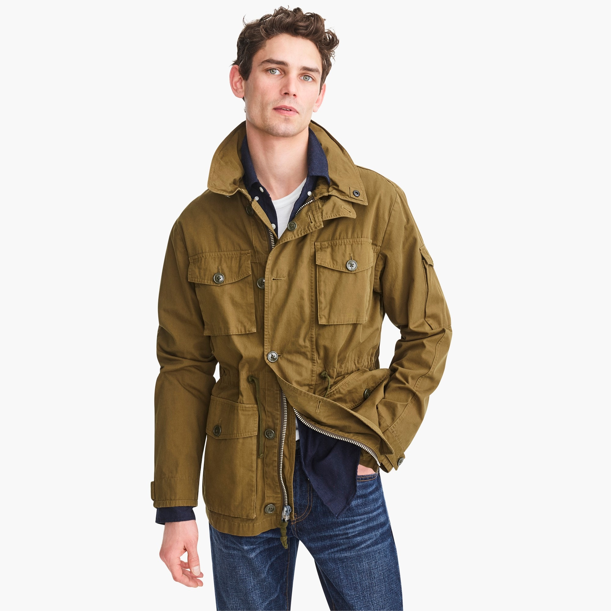 mens Tall field mechanic jacket