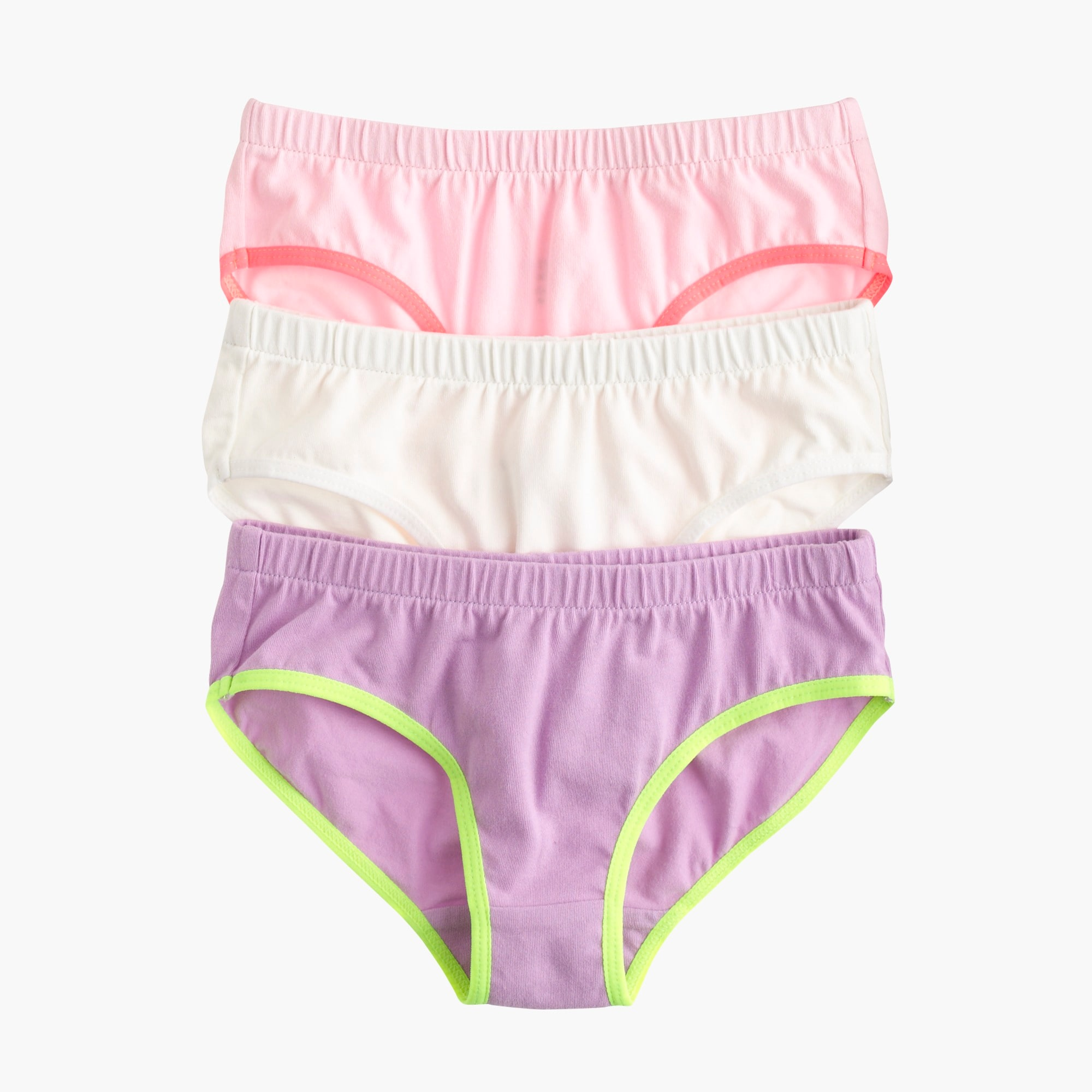 Image 1 for Girls' underwear three-pack in solid
