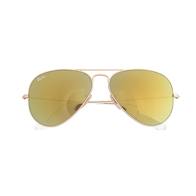 5e5ff9698a7a5 j.crew  ray-ban reg  aviator sunglasses with mirror lenses