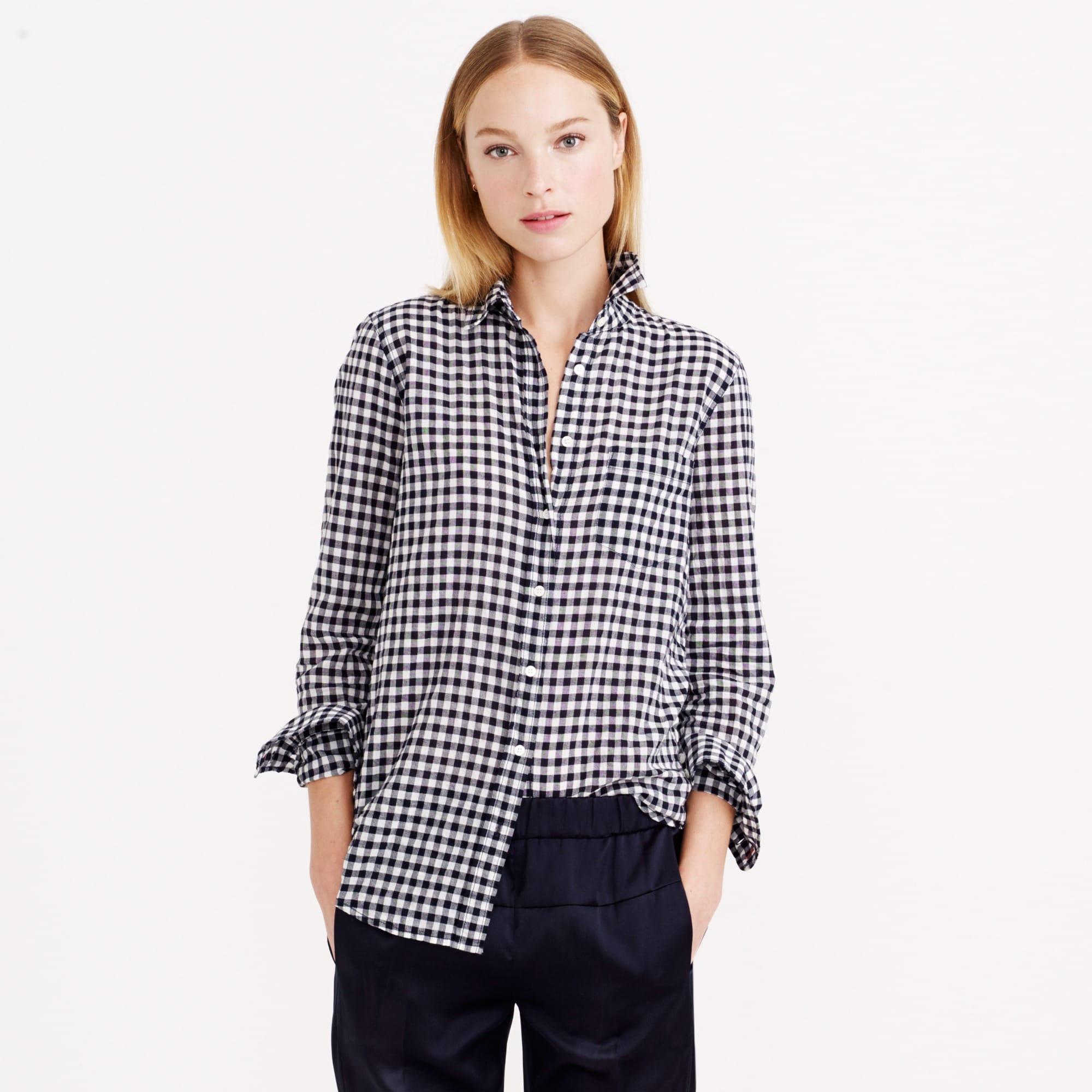 Image 2 for Crinkle check shirt
