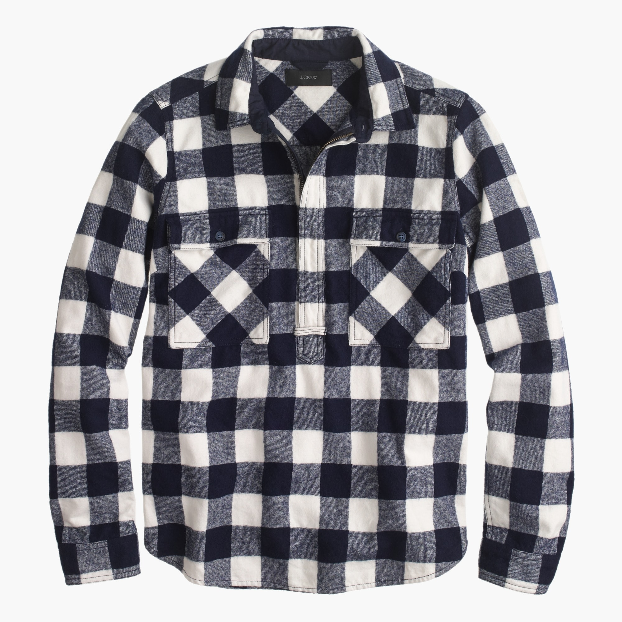 Image 6 for Buffalo check shirt-jacket