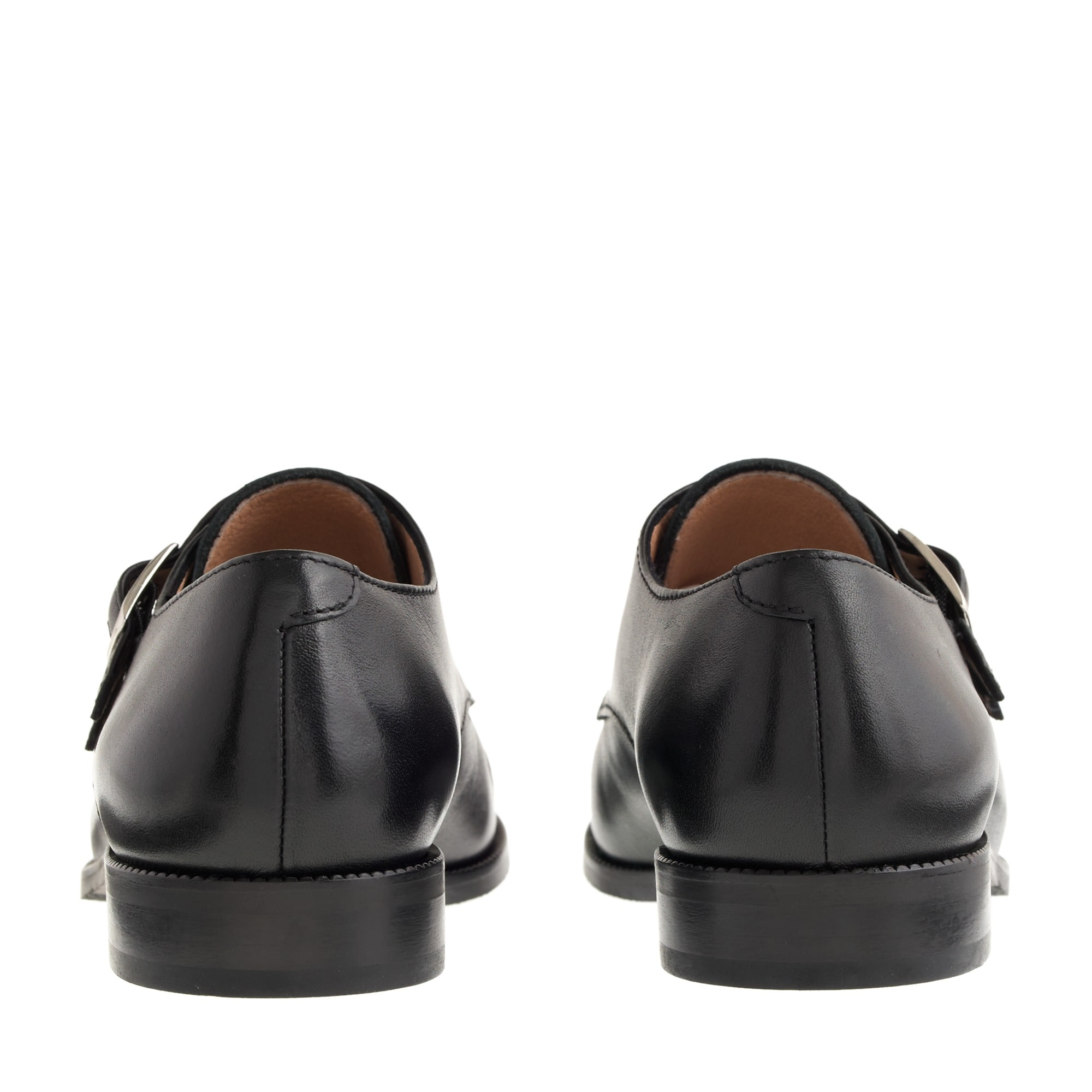 Kids' double monk strap shoes