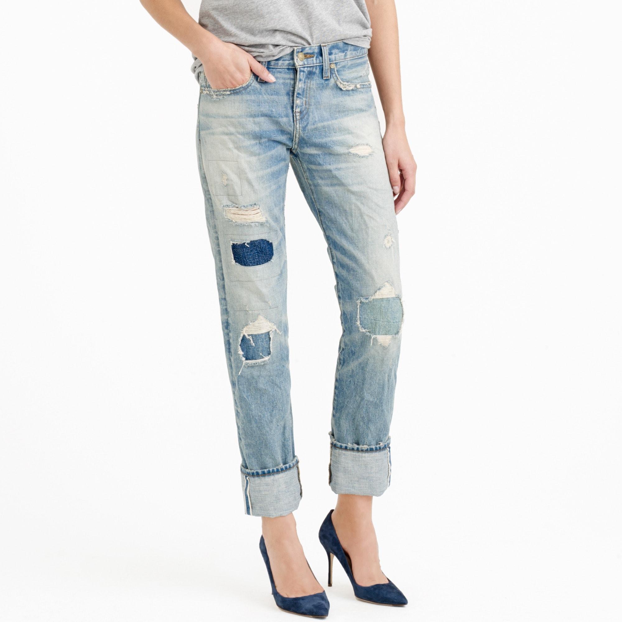 point sur x-rocker japanese selvedge jean in bovey wash : women point sur