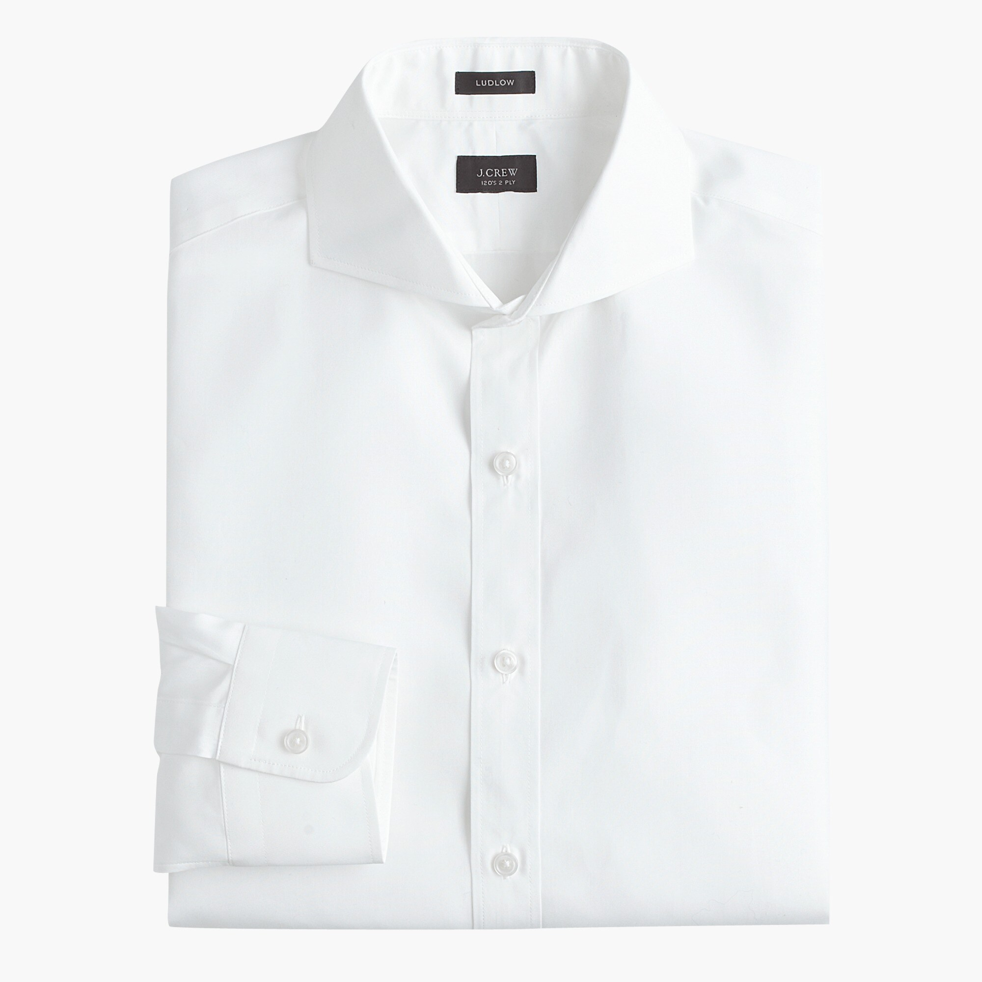 Ludlow Slim-fit cutaway-collar shirt