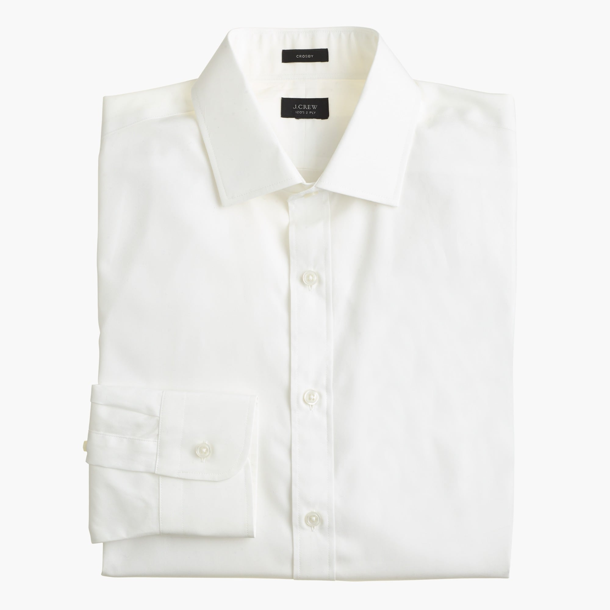 Crosby Classic-fit shirt in white